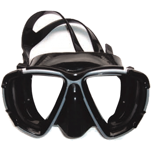 Atlantis Black Μάσκες Σιλικόνης